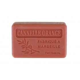 8 Savons 125g non filmés - CANNELLE ORANGE