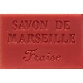 Savonnette Marseille 60g fraise - Boite 16