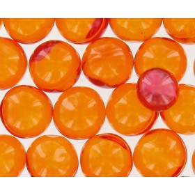 Perles de bain Grand format parfum pêche - Sac 50