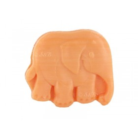 Savons Elephant plat 25g - Sachet 10